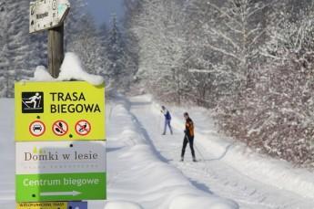 Tylicz Atrakcja Narciarstwo biegowe Domki w Lesie - Trasa biegowa
