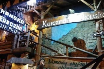 Krynica-Zdrój Restauracja Karczma Łemkowska Kłynec
